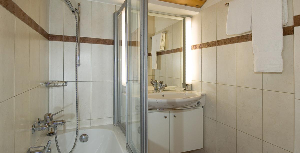 Chalet Obere Gasse Badezimmer