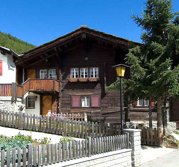 Chalet Obere Gasse in summer