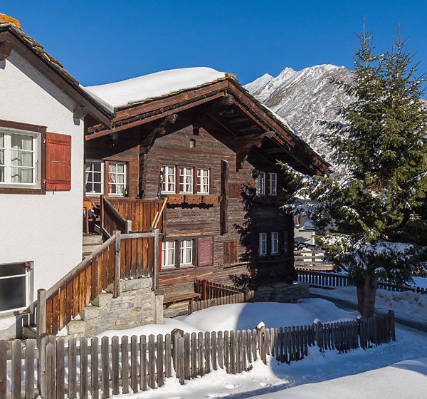 Chalet Obere Gasse in winter