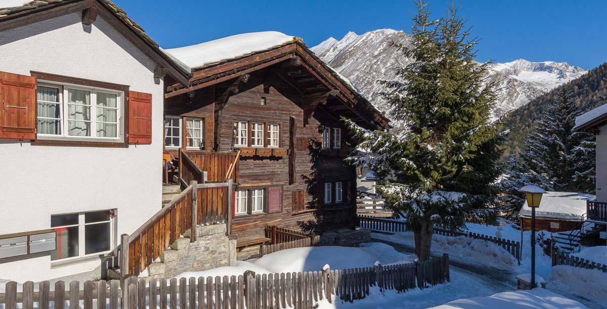 Chalet Obere Gasse Ansicht Winter