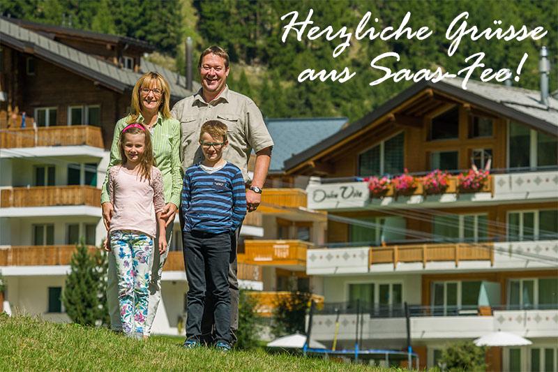 Familie Zurbriggen - Dolce Vita Saas-Fee