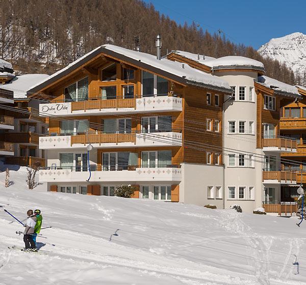 Residence Dolce Vita in winter