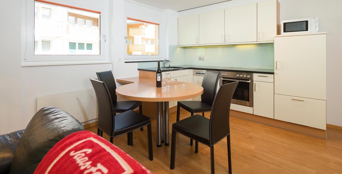 Dolce Vita Saas-Fee holiday apartment Nadelhorn